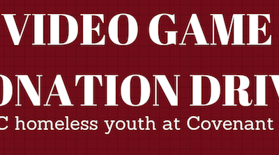Video Game Donation Drive