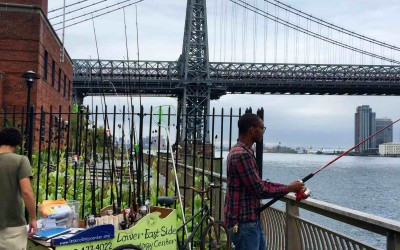 Take the Bait! Come fish with us on the East River!
