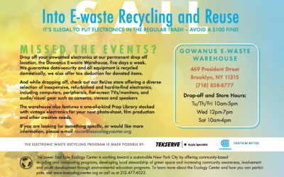 Sail into Summer E-Waste Events!