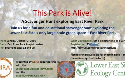 CANCELLED: Scavenger Hunt: This Park is Alive!