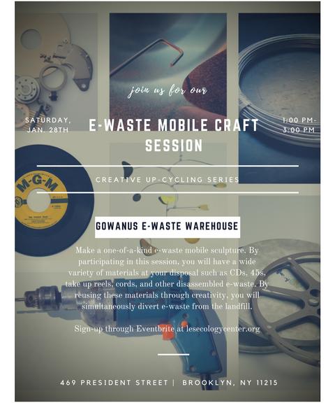 E Waste Mobile Craft Session Les Ecology Center