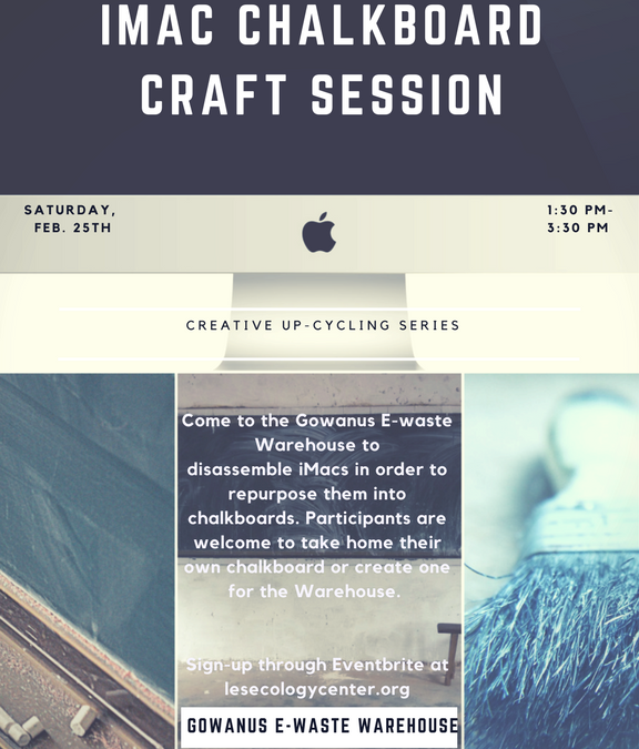 iMac Chalkboard Craft Session