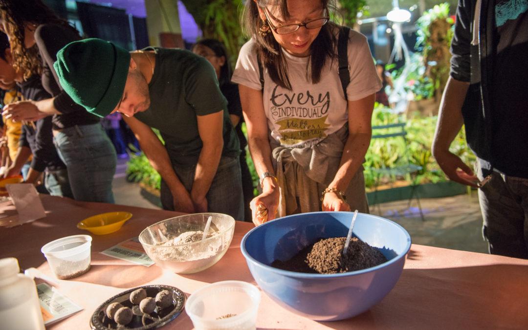 Seed Bomb Workshop