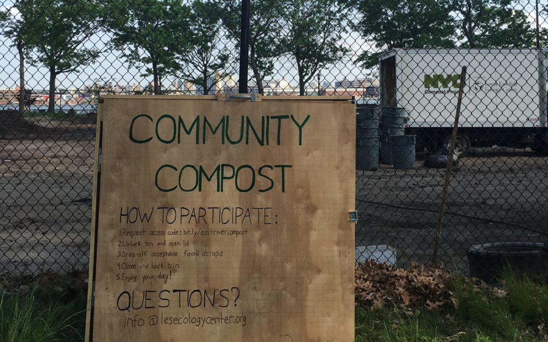 New Compost Drop Off! East River Compost Yard