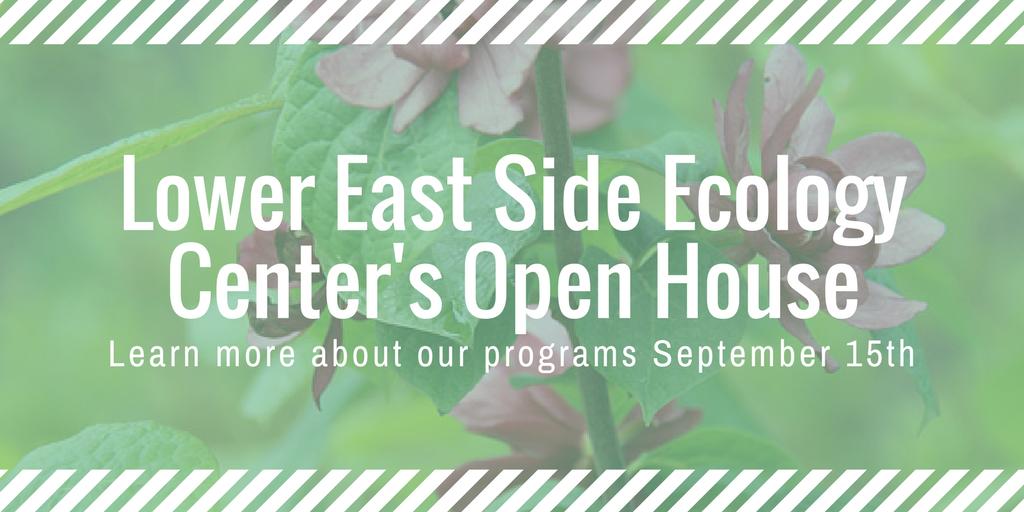 Ecology Center Open House!